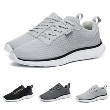 Mens Leisure Sneakers Shoes Sports Breathable Outdoor Jogging Running Non-slip