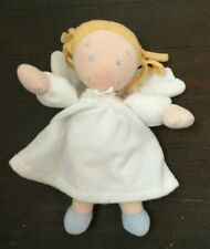 Little Princess North American Bear Co Plush Doll Blonde Pigtails Angel Wings