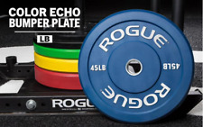 Rogue Echo COLOR Bumper Plates - 370lb Full Set IN-HAND 55 45 35 25 15 10 NEW
