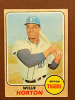 1968 Topps Willie Horton Card #360 EX Tigers