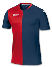 JOMA PREMIER SHORT SLEEVED SHIRT - NAVY / RED - 4XS - 3XS