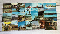 Lot of 35 Vintage Postcards 1950's 1960's Vacation Restaurant Hotel Motel