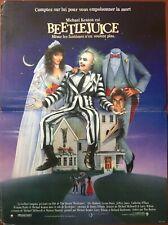 Affiche cinéma Beetlejuice Tim Burton (1988)