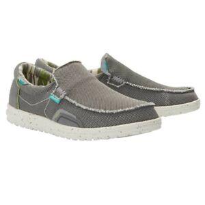 Hey Dude Men's Mikka Hawk Ash Slip On Shoes 150303506