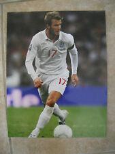 David Beckham Color Soccer Futbol 11x14 Photo #2