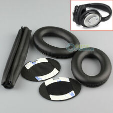 Replacement Ear Pads Headband Cushion for Bose QuietComfort QC15 QC2 Headphones