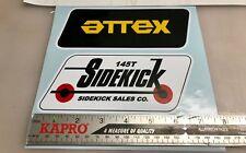 Attex Side kick Sidekick mini bike minibike decals stickers