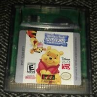 WINNIE THE POOH ADVENTURES - NINTENDO GAME BOY COLOR - FREE S/H - (B1)