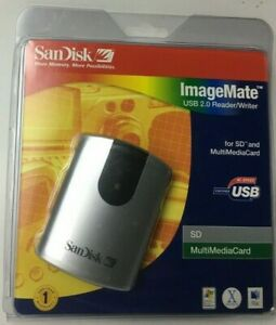 SanDisk ImageMate USB 2.0 Reader/Writer -SD & MultiMediaCard - FREE SHIP