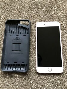 iPhone 6s Plus 32GB Rose Gold AT&T Model A1634 with Silk Wallet Case Bundle