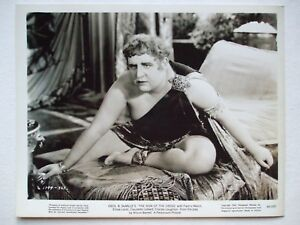 ORIGINAL PROMO PHOTO CHARLES LAUGHTON - THE SIGN OF THE CROSS 1932 NERO CAESAR