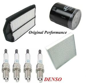 Tune Up Kit Air Cabin Oil Filters Spark Plugs For HONDA CR-V L4 2.4L 2007-2009