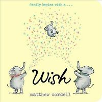 Wish, Hardcover by Cordell, Matthew, Brand New, Free shipping in the US