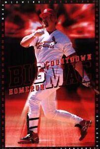 New Costacos MLB St Louis Cardinals Mark McGwire Big Mac Wall Poster 22.5 x 35