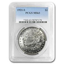 1921-S Morgan Silver Dollar Coin - MS-63 PCGS - SKU #22667