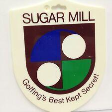 Sugar Mill Country Club Golf Course Plastic bag Tag New Smyrna Beach Florida FLA