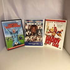 Comedy DVD's Lot of 3 - Daddy Day Care - Snow Dogs - Kicking & Screaming