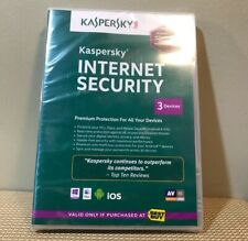 Kaspersky Internet Security 2013 (Best Buy) (3 Devices) - Brand New Sealed