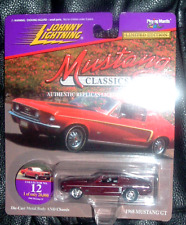 1968  Ford Mustang GT Mustang Classics 2 #12  Johnny Lightning USA Import