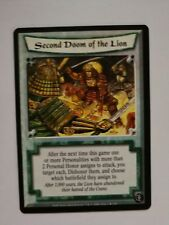Legend of the Five Rings - L5R - Second Doom of the Lion