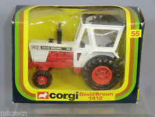 "CORGI TOYS MODEL No.55  ""DAVID BROWN""  1412  TRACTOR   ""RARE""          VN  MIB"
