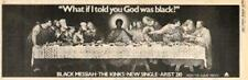 Kinks Black Messiah UK '45 advert 1978