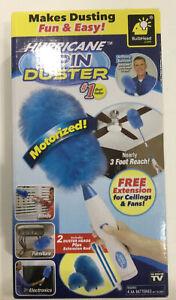 New Hurricane Spin Duster Motorized As Seen On TV