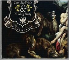RARE CD Tom McBride & the Whig Party Like A Lion Includes Booklet 2009 Ex. Cond.