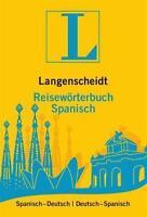 Langenscheidt Reisewörterbuch Spanisch (2011, Taschenbuch)
