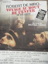 AFFICHE VOYAGE AU BOUT DE L' ENFER FILM DE MICHAEL CIMINO AVEC ROBERT DE NIRO