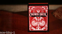1 new deck RED CROWN  1st Edition PLAYING CARDS by bicycle USPCC