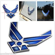 Auto-decor 3D metal Blue air force logo car sticker decal USAF car Badge Emblem