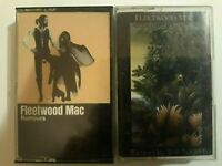 2 FLEETWOOD MAC Cassette Tapes RUMOURS 1977 Tango In The Night 1987 WARNER BROS