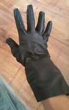 RAF Gloves WR Pilots Flying size 9.5 Aircrew  ( 9 half ) Black Leather Rubber (C