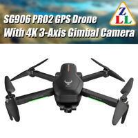 ZLL SG906PRO 2 Drone 4K 3-Axis Gimbal Camera HD GPS 5G WiFi FPV RC Quadcopter UK