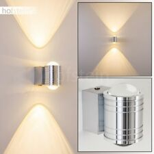 LED Wandleuchte silber Strahler Lampe Treppen Haus Flur Wohn Schlaf Zimmer Diele