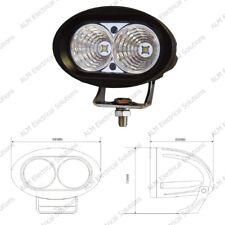 2 x 5W LED Work Lamp - Black, 10-60V 1000lm, IP67 - Durite -  0-420-60