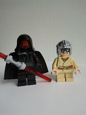Minifigs Lego Star Wars 7151 sw003 Darth Maul 7962 sw327 Anakin 7101 7663 3340