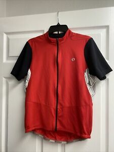 Pearl Izumi Select Bike Cycling Jersey with Full Zip Men's Size L Red