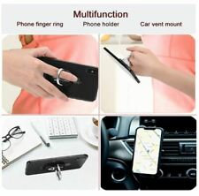 Universal 360 Finger Ring Cell Phone Holder Stand Air Vent Car Mount