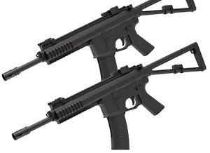 2x Softair Pistole M307 Gewehr Karabiner Sturmgewehr ABS mit Munition BB Set