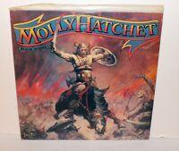 MOLLY HATCHET BEATIN' THE ODDS LP VINYL, EPIC RECORDS 36572, EX/NM