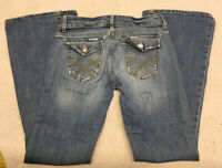 Aeropostale Jeans Ultra Skinny Ashley Denim Blue Jean Womens 0 S Light Wash