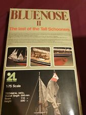 Collectible Ship Model Kit  BLUENOSE II 1985 Made in Spain