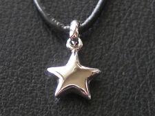 Stern 925'er Silber rhodiniert keltisch Anhänger / 018