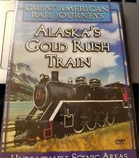 Great American Rail Journey's Alaska's Gold Rush Train - BRAND NEW SEALED DVD