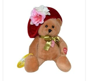 Musical Chantilly Lane Patti Cakes Teddy Bear Doll sing Wind Beneath My Wings