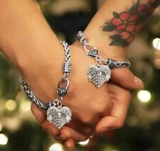 Matching Sister Bracelets, Big Sis, Baby Sis Friendship 2pc