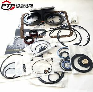 700R4 4L60 Transmission Rebuild Kit with High Energy Alto Clutches & Filter