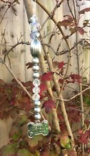 Pet memorial crystal suncatcher decor ,